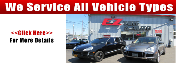 We Service All Vehicle Types  Click Here for More Details